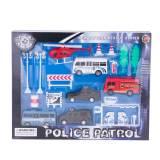 Set masinute de politie si pompieri