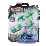 Jucarie Monsuno, combat, din plastic verde