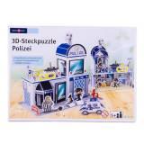 Puzzle 3D statie de politie