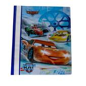 Portofoliu cu Disney Cars, din plastic, albastru