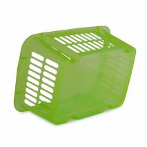 Cosulet depozitare, din plastic, verde 39x26x16 cm