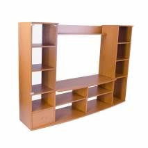 Biblioteca, pal melaminat, cires, 172x132 cm