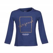 Bluza pentru copii, Pepperts, albastru-auriu