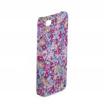 Husa iphone 4/4s , din plastic, cu floricele