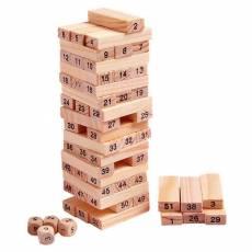Joc Turnul Instabil, din lemn