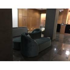 Canapea fixa, tapitata, Double Sofa