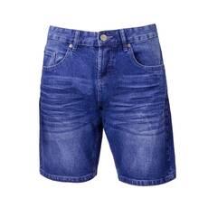 Pantaloni denim scurti, pentru barbati