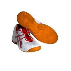 Adidasi Asics, alb-rosu