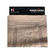 Covoras Hagemann, pentru baie, crem-inchis