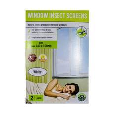 Set 2 plase impotriva insectelor, pentru fereastra