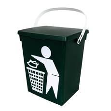 Galeata pentru gunoi, cu capac
