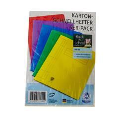 Set 5 dosare Ideen Welt,  cu sina metalica, din carton, multicolor