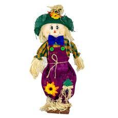 Figurina fetita, pentru decor, visiniu