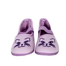 Papuci de interior pentru copii, mov