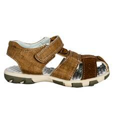 Sandale baieti, maro