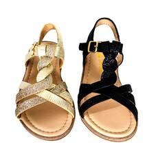 Sandale fetite Doremi, cu sclipici si impletite