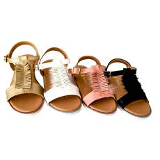 Sandale fetite Doremi, cu franjuri