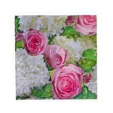Servetele de masa cu bujori roz