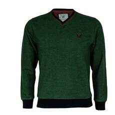 Bluza barbati ZINZOLIN, verde