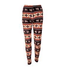 Pantaloni dama cu reni