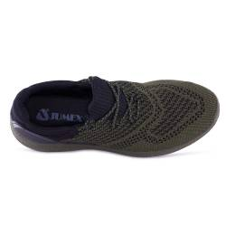 Sneakers, Jumex Collection, negru-kaki