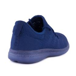 Sneakers, Jumex Collection, bleumarin cu sireturi