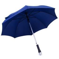 Umbrela cu maner din inox, albastra