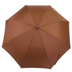 Umbrela cu maner fix, maro