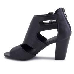 Sandale dama Esmara, cu toc, negre