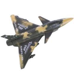 Avion de jucărie, din plastic,kaki