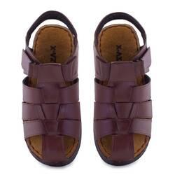 Sandale barbati Moza-x, maro