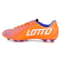 Ghete de fotbal Lotto, portocaliu-alb
