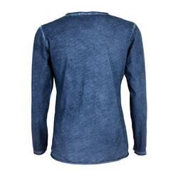 Bluza albastru sters