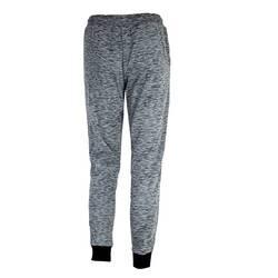 Pantaloni gri, cu imprimeu negru, BLAXTONE