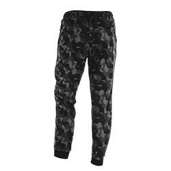 Pantaloni de kamuflaj, negru cu  nuante de gri,  BLAXSTONE