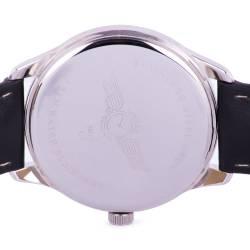 Ceas de mana barbatesc original, Singer, negru-argintiu