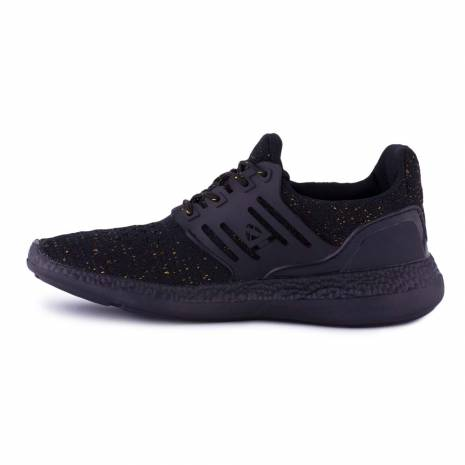 Sneakers, Jumex Collection, negru-auriu