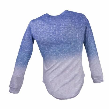 Bluza pentru barbati albastru-gri