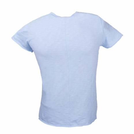 Tricou barbati, albastru deschis