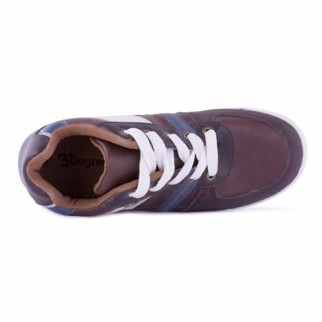Adidasi Varsity, pentru copii, maro-bleumarin