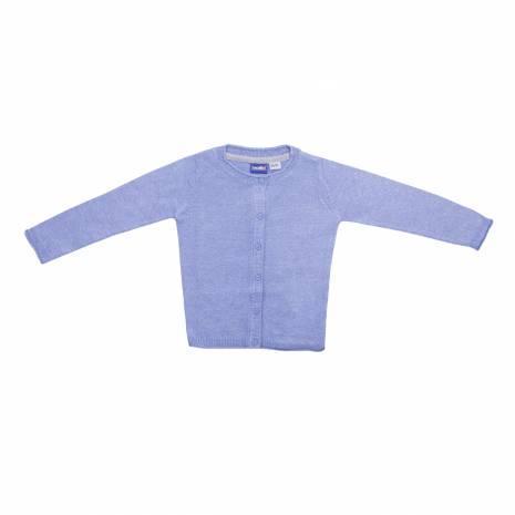 Cardigan pentru fetite, albastru deschis