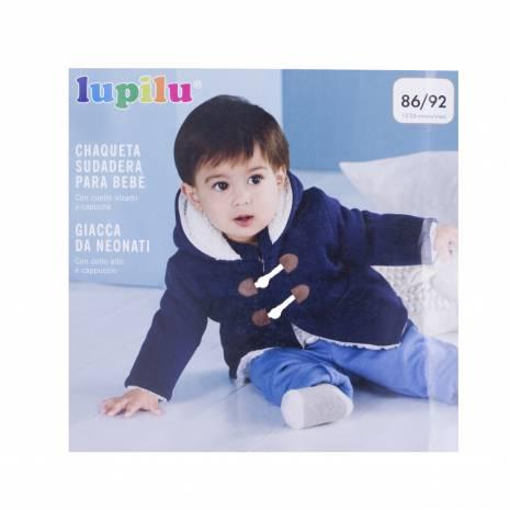 Cardigan pentru copii, Lupilu, bleumarin