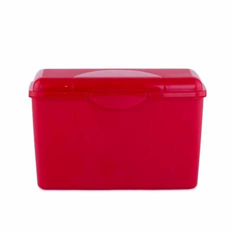 Cutie pentru depozitare, cu capac, verde O cutie pentru depozitare, fara inchidere ermetica, cu clicket, ideala pentru depozitarea diverselor ingredinete in bucataria dvs sau pentru pachetelul pentru serviciu sau scoala. Daca iti doresti sa iti pregatesti de acasa pranzul si sa il servesti la scoala sau la serviciu, aceasta cutie este perfecta.  Caracteristici:  -material: plastic;  -culoare: verde;  -dimensiuni: 20 x 9 x 12.5 cm