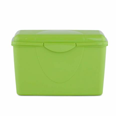 Cutie pentru depozitare, cu capac, verde