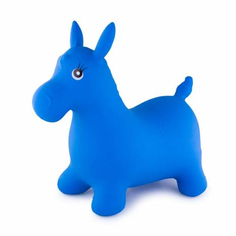 Jucarie calut, gonflabil, albastru