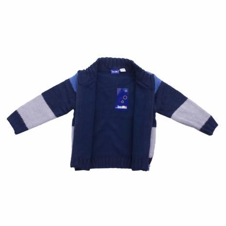 Pulover pentru copii, Lupilu, albastru-gri