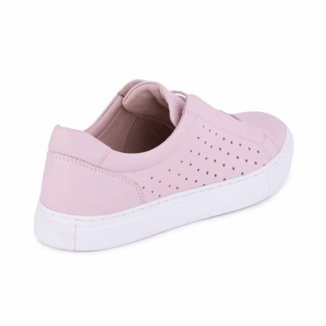 Adidasi din piele, roz