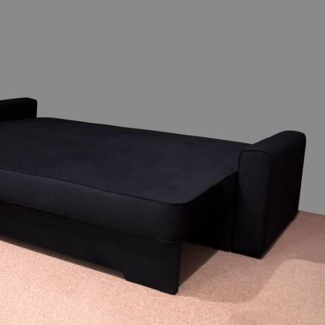 Canapea fixa, REmarcabil, neagra