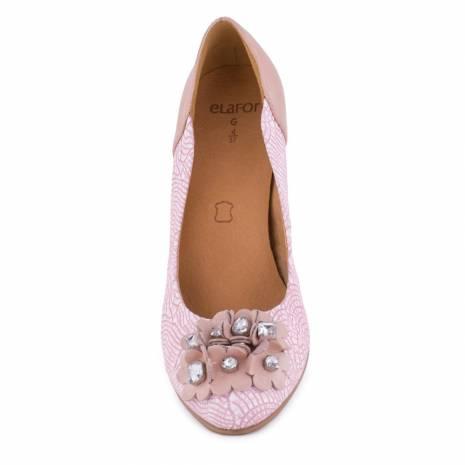 Pantofi dama, Elafor, roz pal