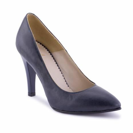 Pantofi dama, Diane Marie, piele naturala, bleumarin inchis